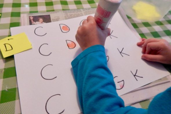 find letter k activities for 2 year old in this collection of simple play