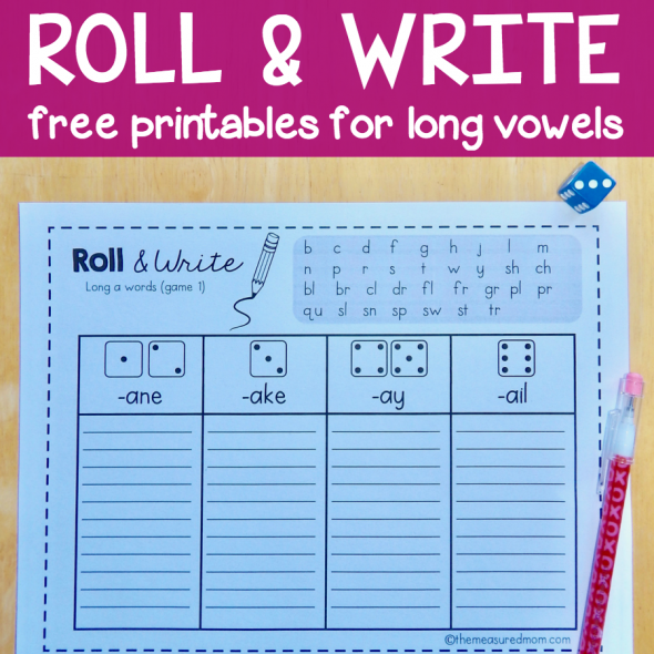 roll-and-write-for-long-vowels-square-image