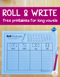 Grab these free games to help kids spell long vowel words!