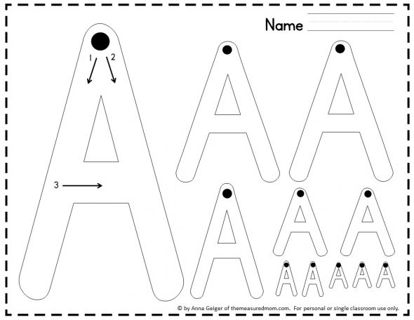 330 Handwriting Worksheets The Measured Mom. Get A Letters Of All Sizes Page For Each Uppercase Letter Lowercase And The Numbers 09. Worksheet. Letters And Numbers Worksheets At Clickcart.co