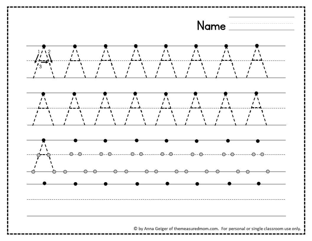 330 Handwriting Worksheets The Measured Mom