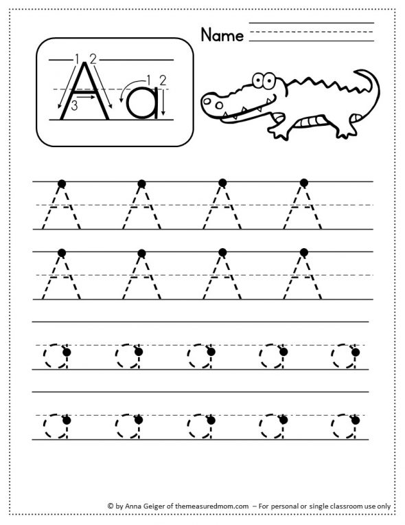 330 Handwriting Worksheets The Measured Mom. Find These For Each Uppercase Letter Lowercase And Numbers 09. Worksheet. Handwriting Worksheets Uppercase And Lowercase At Clickcart.co