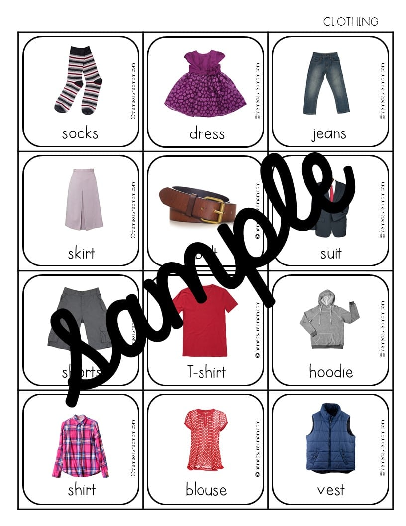 500 vocabulary picture cards the measured mom