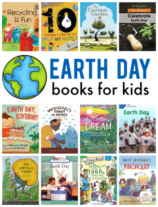 Earth day books for preschool through second grade