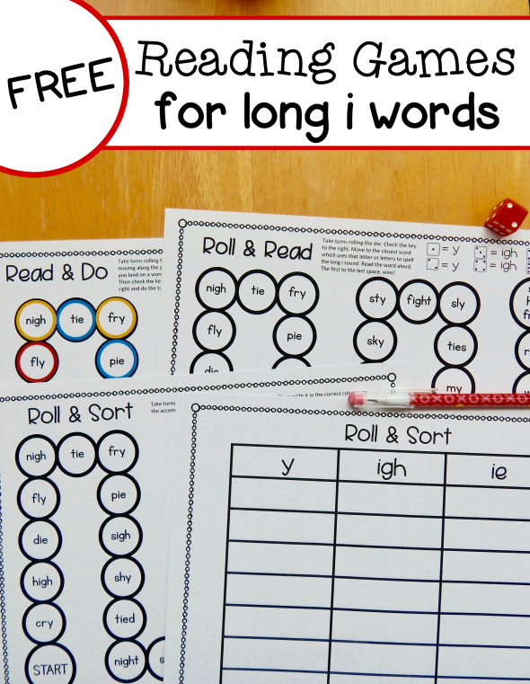 Free Long I Reading Games For Y Ie And Igh Words: Long I Ie Igh Worksheets At Alzheimers-prions.com