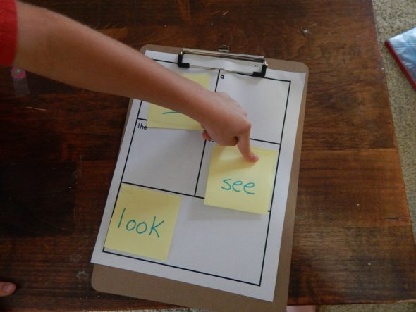 Play this simple game to help students review sight words.