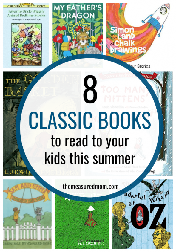 Looking for classic books to read aloud? Check out this list!