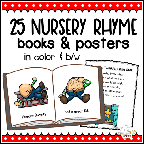 25 Nursery Rhyme Books And Posters