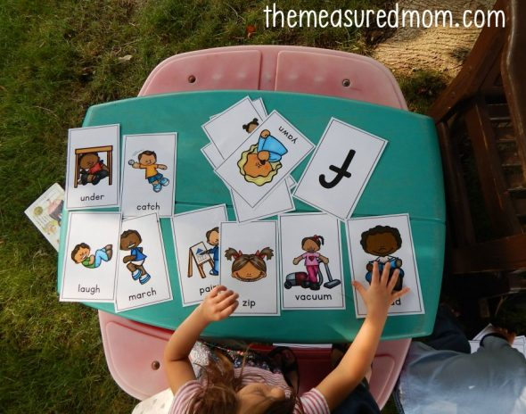 Learn letters and their sounds with these fun (and free!) alphabet action cards!