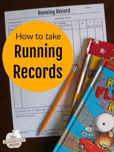 How to take a running record