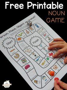 Free noun game