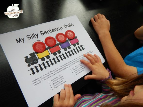 Download this free word awareness activity to help your learners count sentences in words.