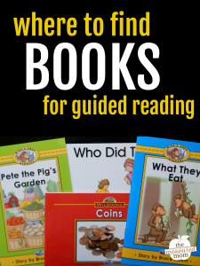 Where to find guided reading books