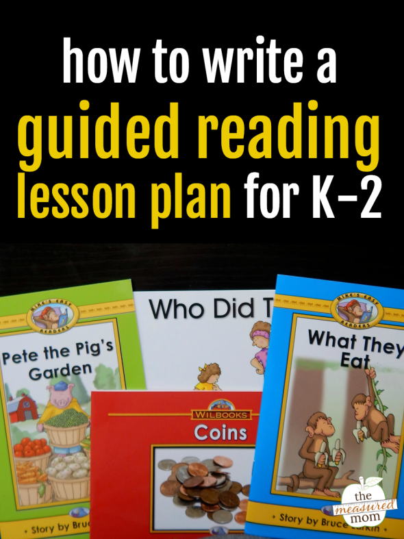 How to prepare a guided reading lesson - The Measured Mom