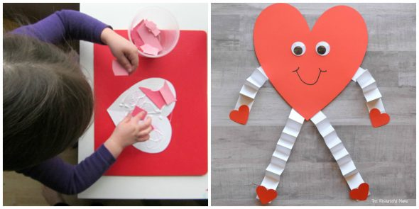 Easy Valentine Crafts For Preschoolers  The Measured Mom