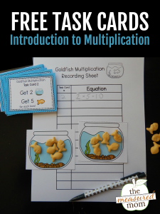 Free introduction to multiplication activity