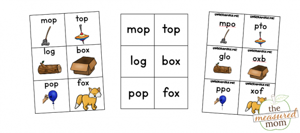 Grab this free write the room activity for short o words - with three levels of difficulty!