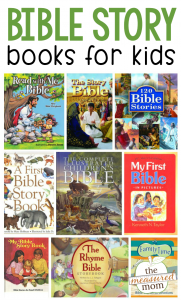 Our favorite children's Bible story books