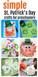Simple St. Patrick's Day crafts for preschoolers