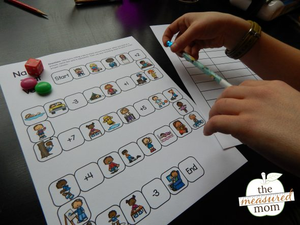 This simple verb game is perfect for introducing action verbs!