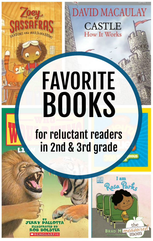 Favorite Books For Reluctant Readers In 2nd 3rd Grade The