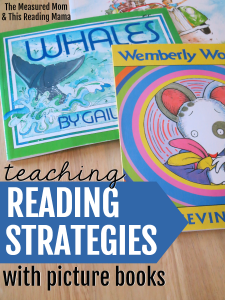 How to teach reading strategies with picture books