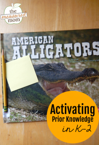 Activating prior knowledge: how to teach it with picture books