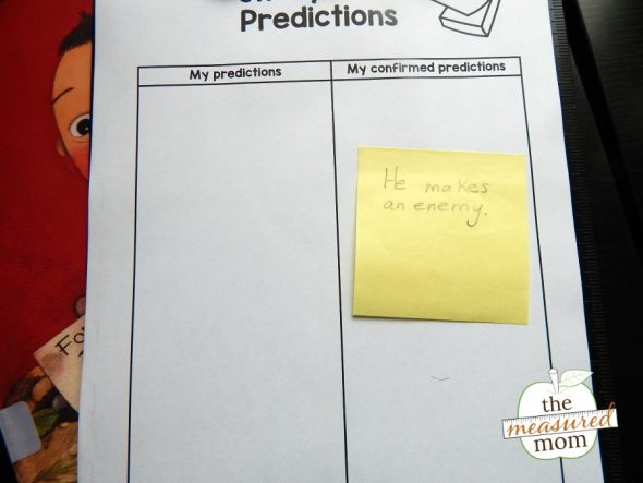 Learn how to teach predicting with picture books - and grab a free printable to help!