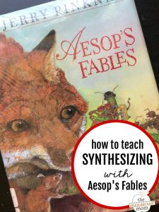 How to teach synthesizing with Aesop's Fables