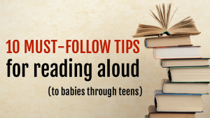 10 tips for reading aloud to kids of all ages