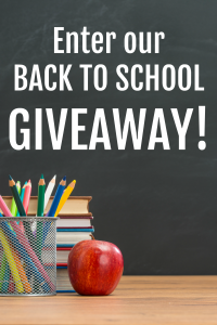 It's a back to school giveaway!