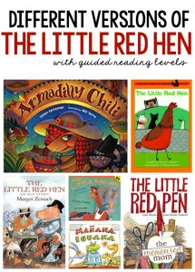 Versions of the Little Red Hen