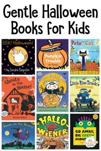 Gentle Halloween books for kids