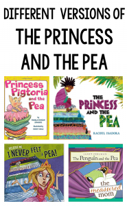 Versions of The Princess and the Pea