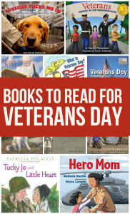 12 Books for Veterans Day