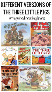 19 Versions of the Three Little Pigs