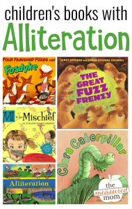 Children's books with alliteration