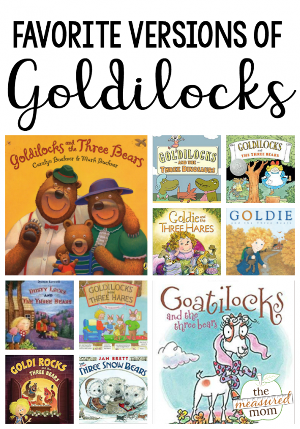 books about goldilocks