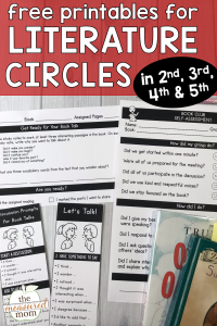 How to get started with literature circles
