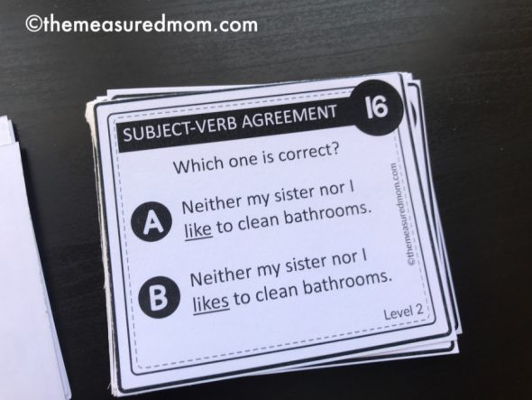 Free Games To Reinforce Subject Verb Agreement Rules The