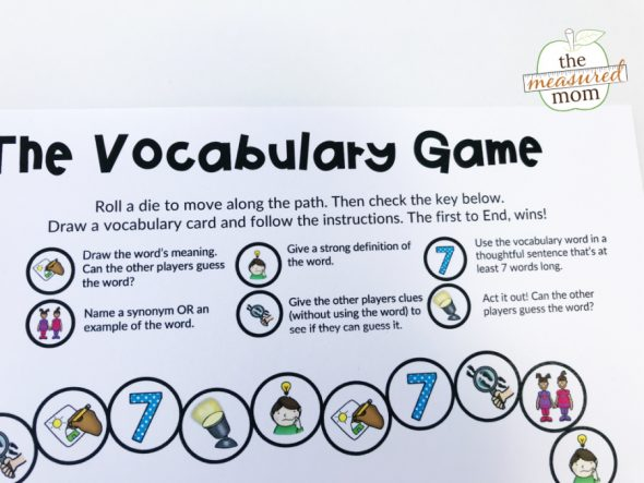 picture regarding Printable Vocabulary Activities known as Free of charge printable vocabulary sport for grades 3-5 (editable