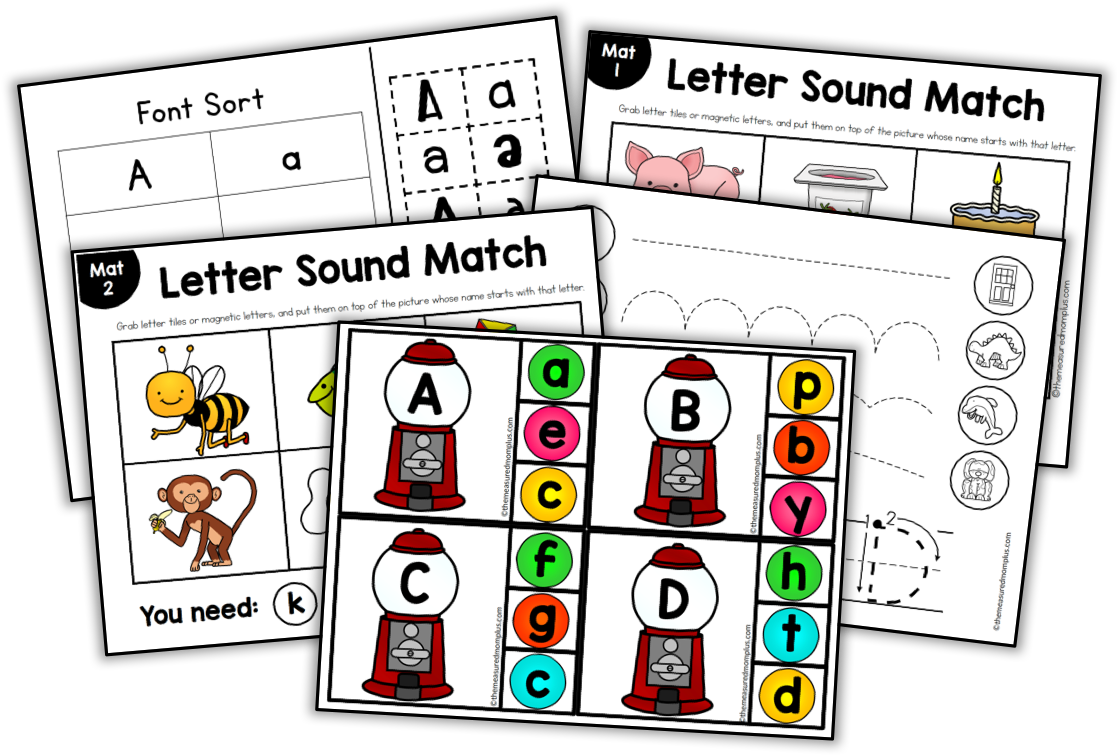 Alphabet Action Cards The Measured Mom