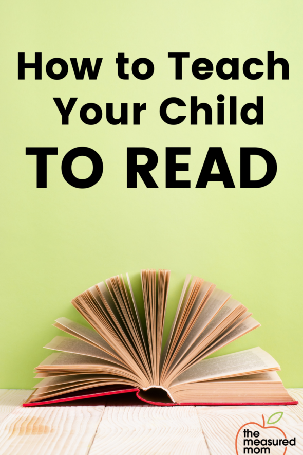 Are you wondering how to teach a child to read at home? This blog post and free guidebook will get you started!